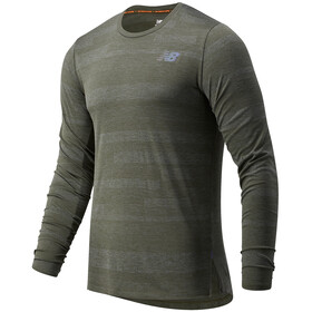 New Balance Q Speed Fuel Jacquard T-shirt Manches longues Homme, other green